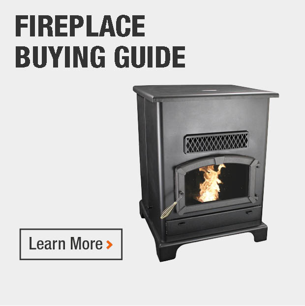 US Stove 26 in. 1,800 sq. ft. Wood-Burning Fireplace Insert with ...