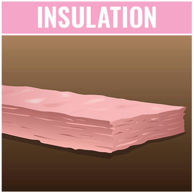 Owens Corning R 38 Ecotouch Pink Kraft Faced Fiberglass