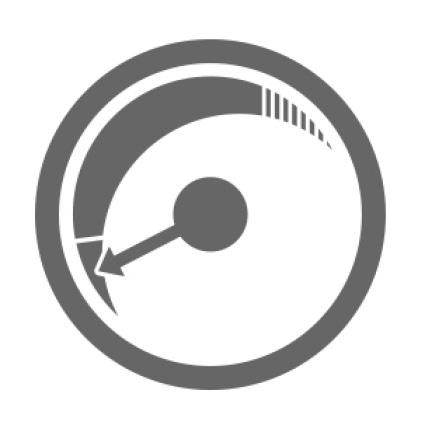 Change filter when vacuum performance decreases.
