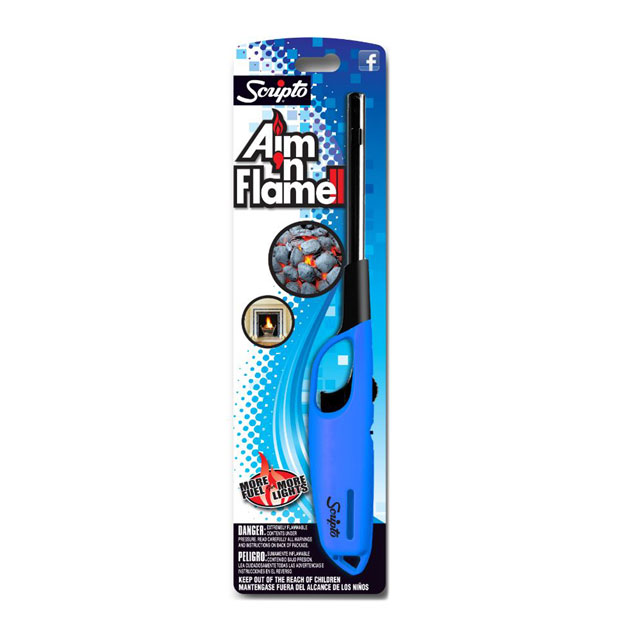 Lighter specifically designed for use with grills