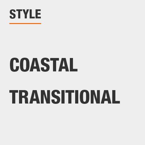 This bathroom vanity mirror style is Coastal;Transitional