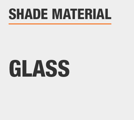 Product Shade Material: Glass
