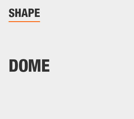 Product Shape: Dome