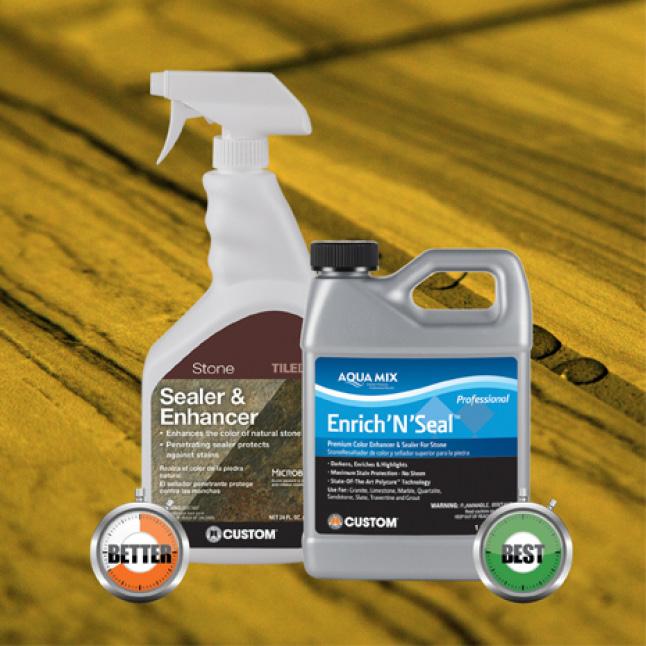 Enhancing penetrating sealers product line