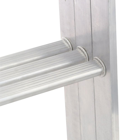 Werner 7 Ft 9 Ft 18 In X 24 In Compact Aluminum