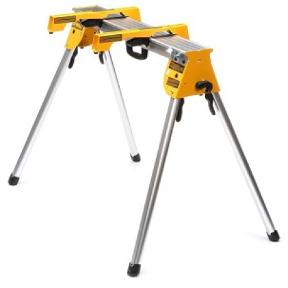 DWX725B Supports up to 1000 lbs. and weighs only 15.4 lbs. (Includes 2 Miter Saw Brackets)