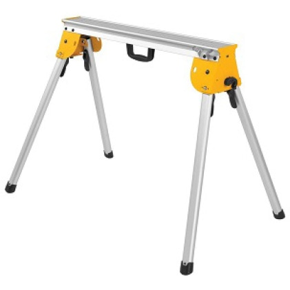 DWX725 Supports up to 1000 lbs. and weighs only 15.4 lbs. (no Miter Saw Brackets included)