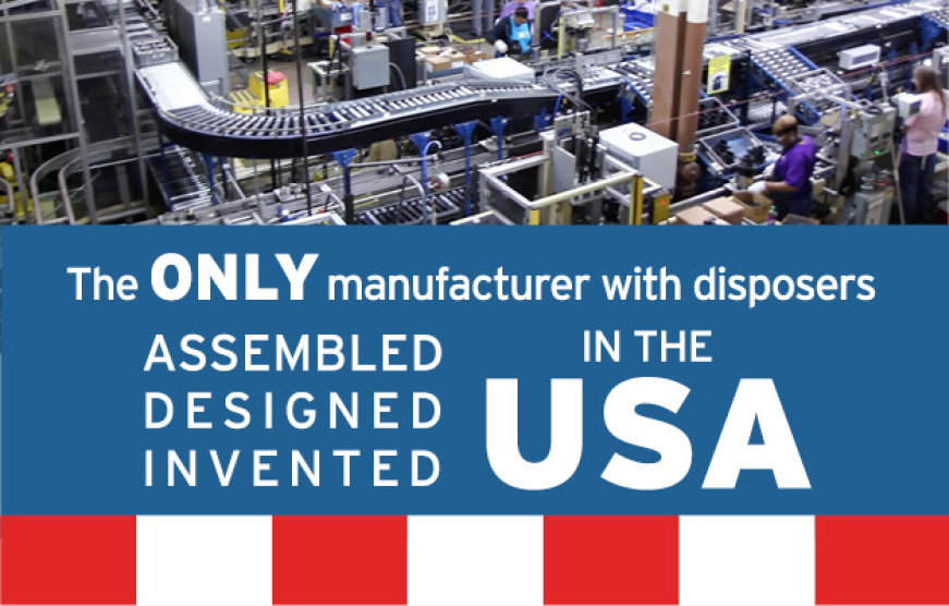 Assembled, Designed Invented in the USA