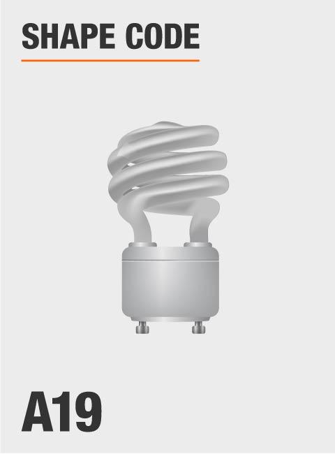 Day Time Light Bulbs: Feit Electric 60W Equivalent Daylight (5000K) Spiral GU24