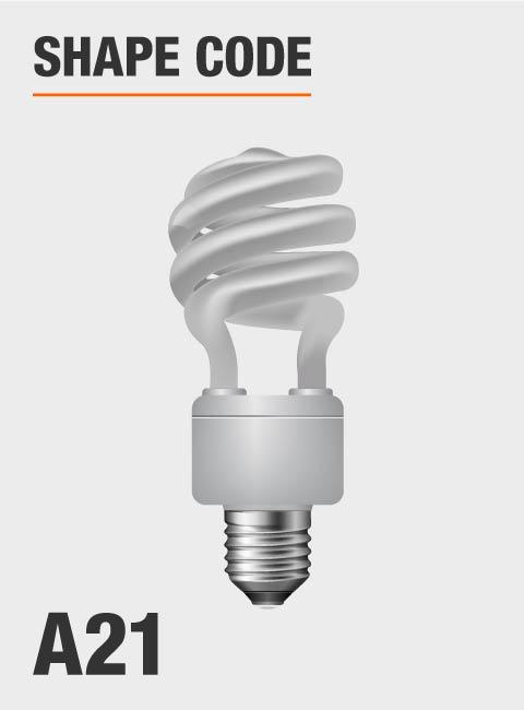 Day Time Light Bulbs: Feit Electric 150-Watt Equivalent Daylight A21 Spiral CFL