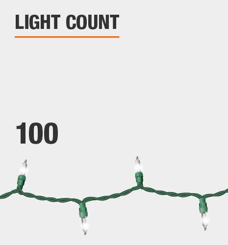 The light count is 100