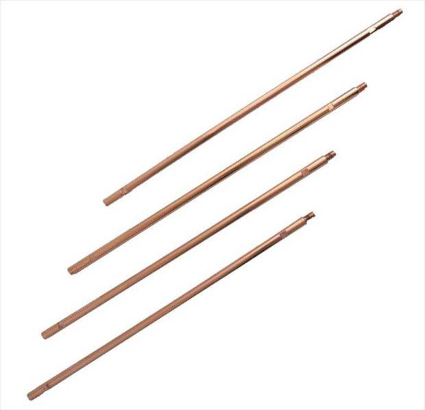 Zareba 8 ft  Copper Ground Rod Sectional System-GRSC8-Z
