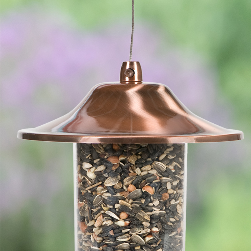 sure lock lid benefits, sure lock lid seed feeders