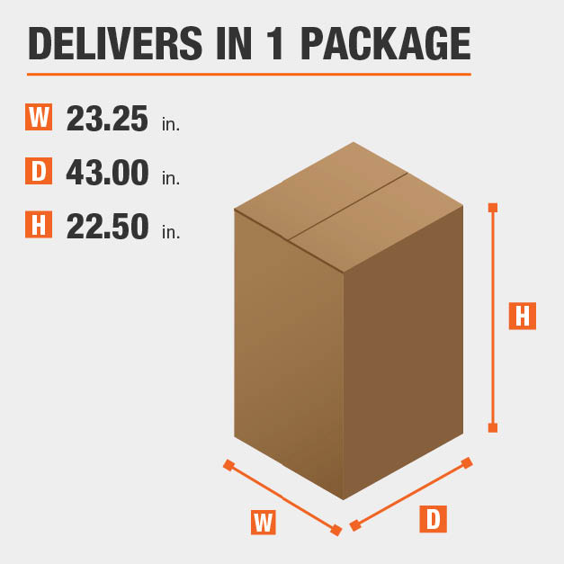 Package Dimensions 23.25 inches wide 22.5 inches high