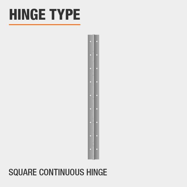 Square Continuous Hinge Type