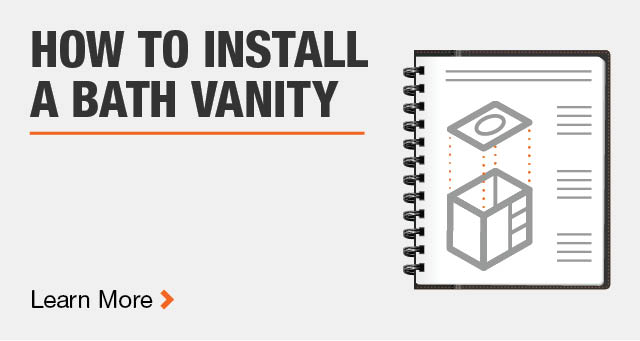 How to Install a Bath Vanity
