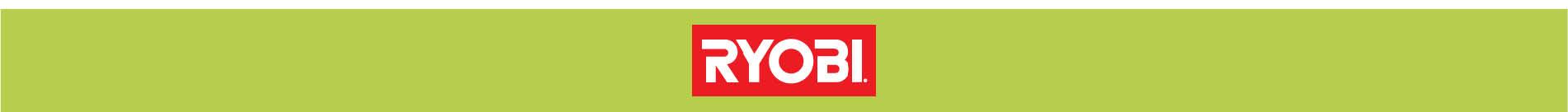 Ryobi Brand Banner