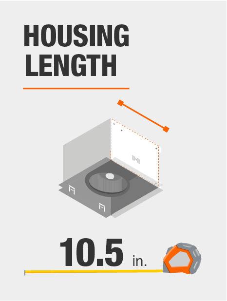 Housing length