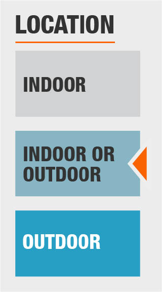 indoor and outdoor