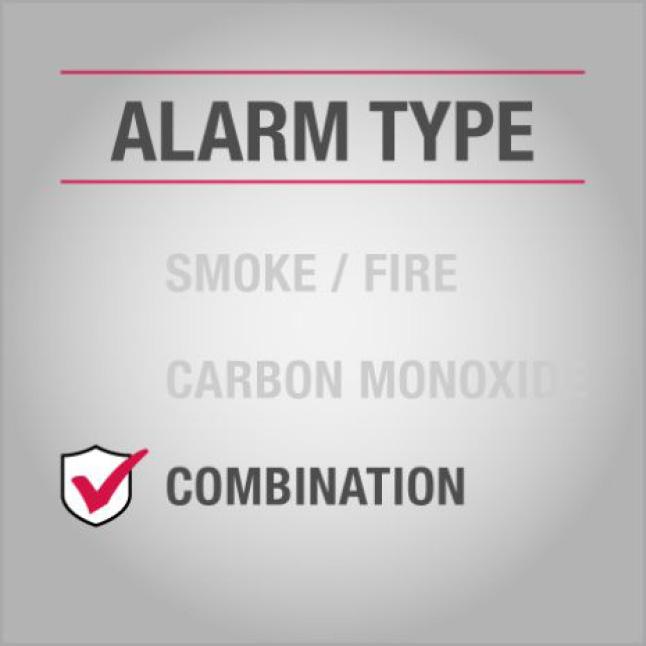 Combo Smoke and CO Alarm
