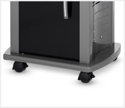 Heavy-duty back and front casters