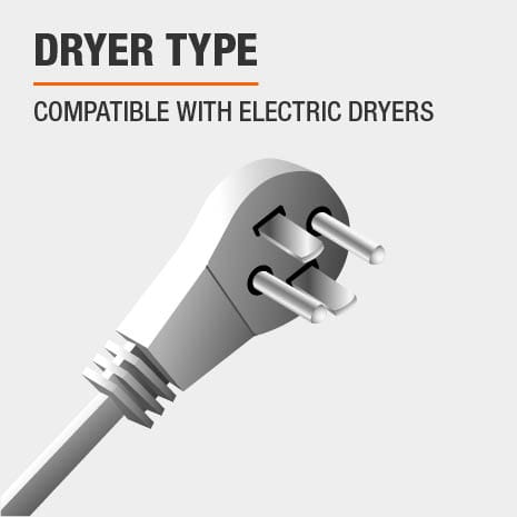 Compatible with Electric  Dryers