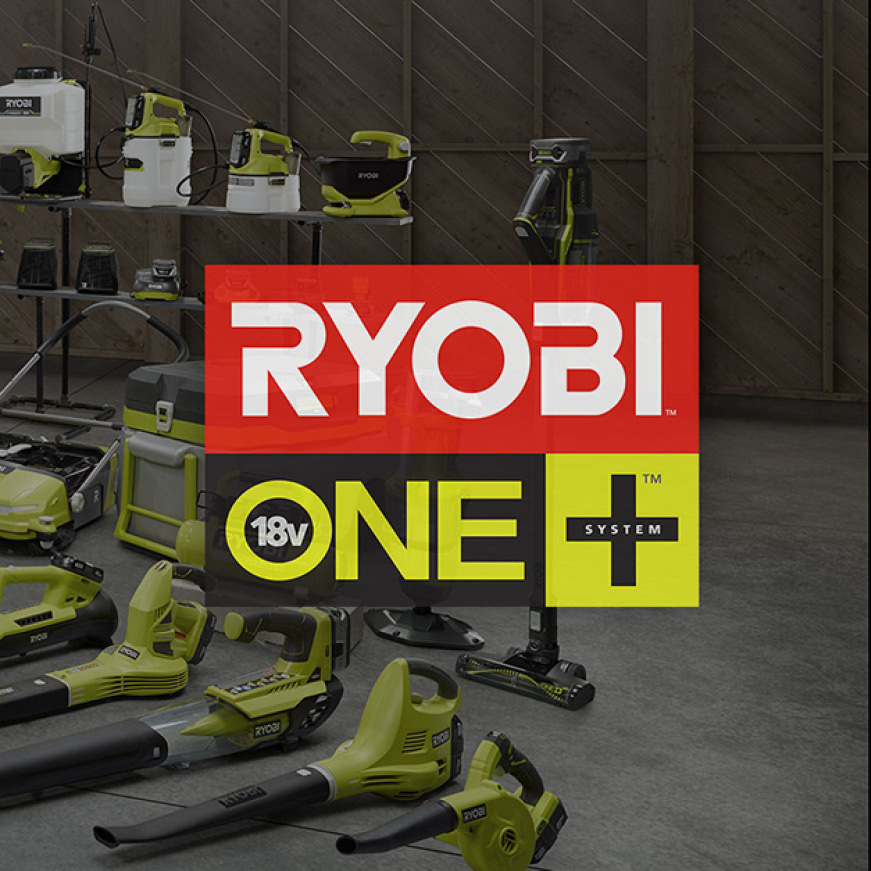 RYOBI ONE+™ Delivers More