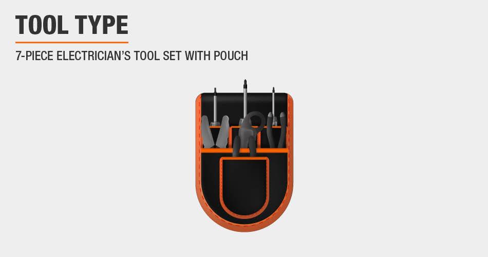 7 pc Tool Set
