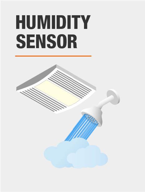 Panasonic Whispersense 110 Cfm Ceiling Humidity And Motion