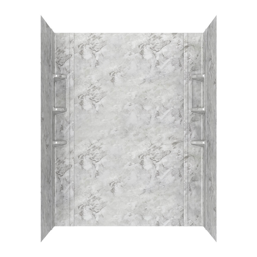 American Standard Ovation Bathroom Wall Collection in Silver Celestial