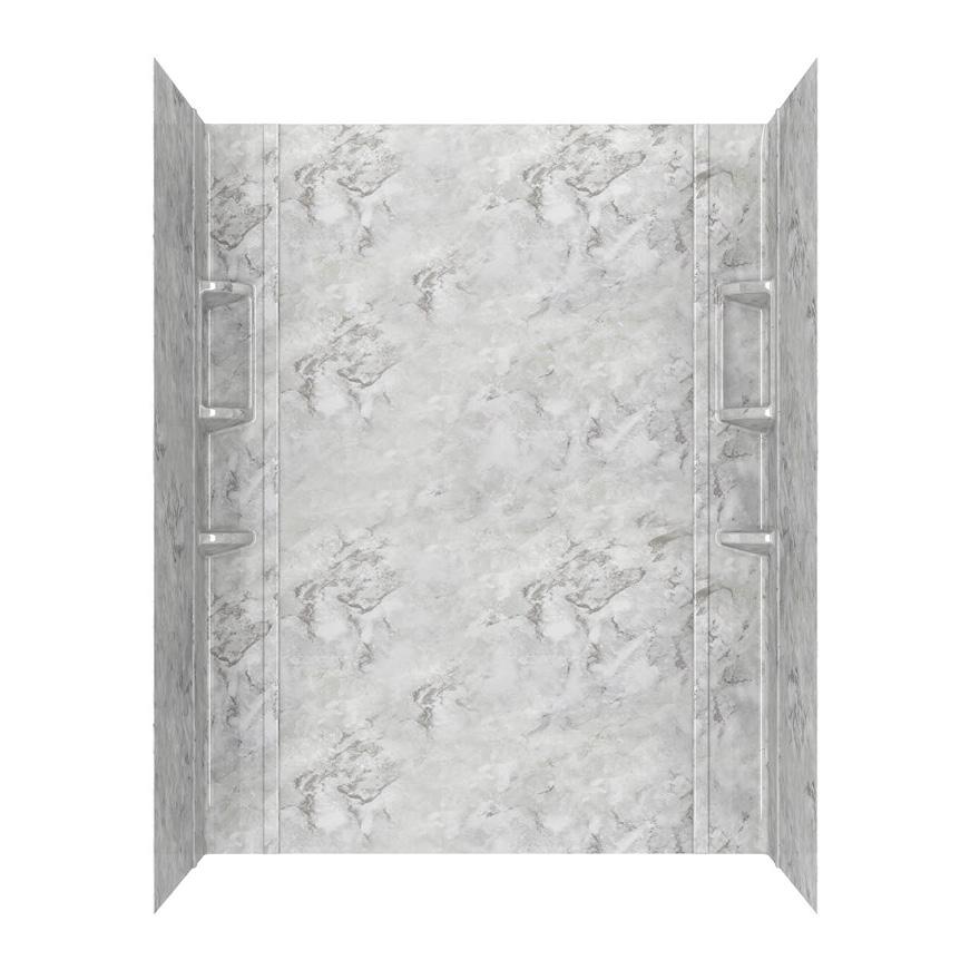 American Standard Ovation Shower Walls in Silver Celestial