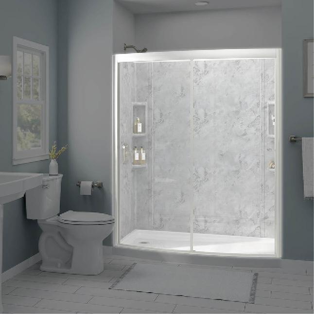 American Standard Ovation Curved Shower Door