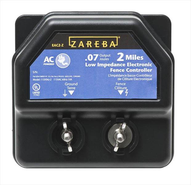 Zareba 2 Mile Ac Line Energizer Ea2m Z The Home Depot