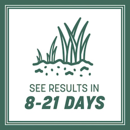 See results in 8 to 21 days