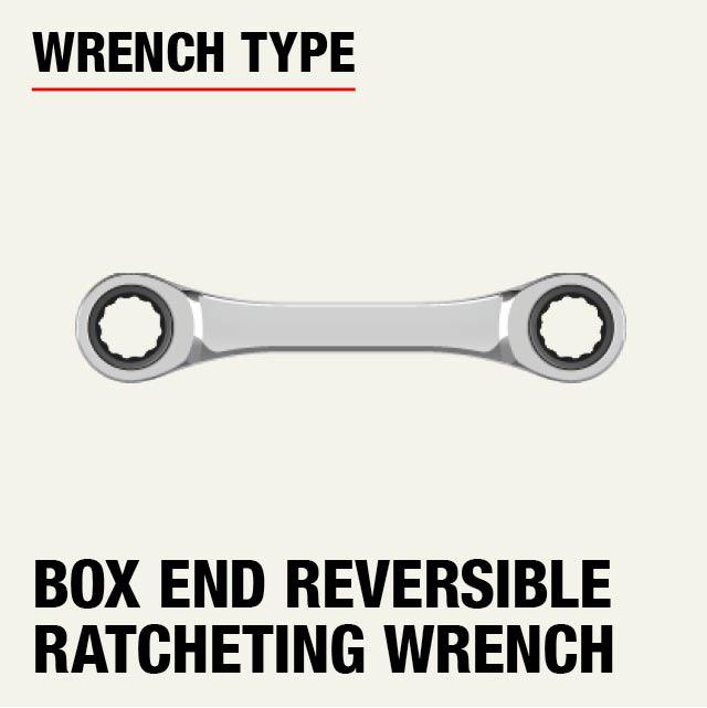 Metric Quad Drive Ratcheting Wrench Set