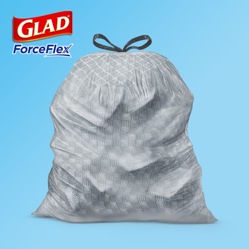Glad ForceFlex Technology.