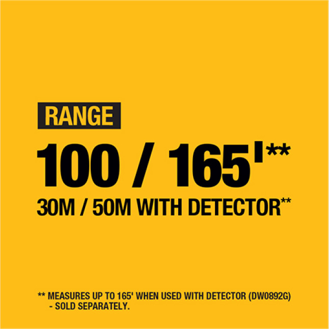 DW088K-QU 165 ft. Red Self-Leveling Cross-Line Laser Level with (3) AA Batteries & Case