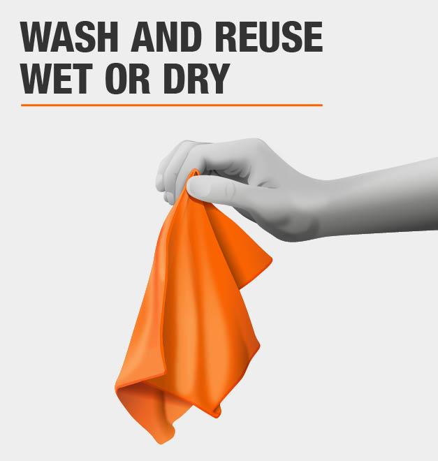 Reusable microfiber cloth, washable microfiber cloth, reusable microfiber cleaning towel, washable microfiber cleaning cloth