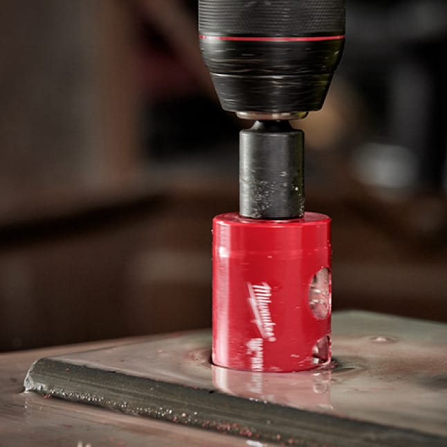 Ideal for cutting, anchoring, and clearance holes in tile, stone and glass