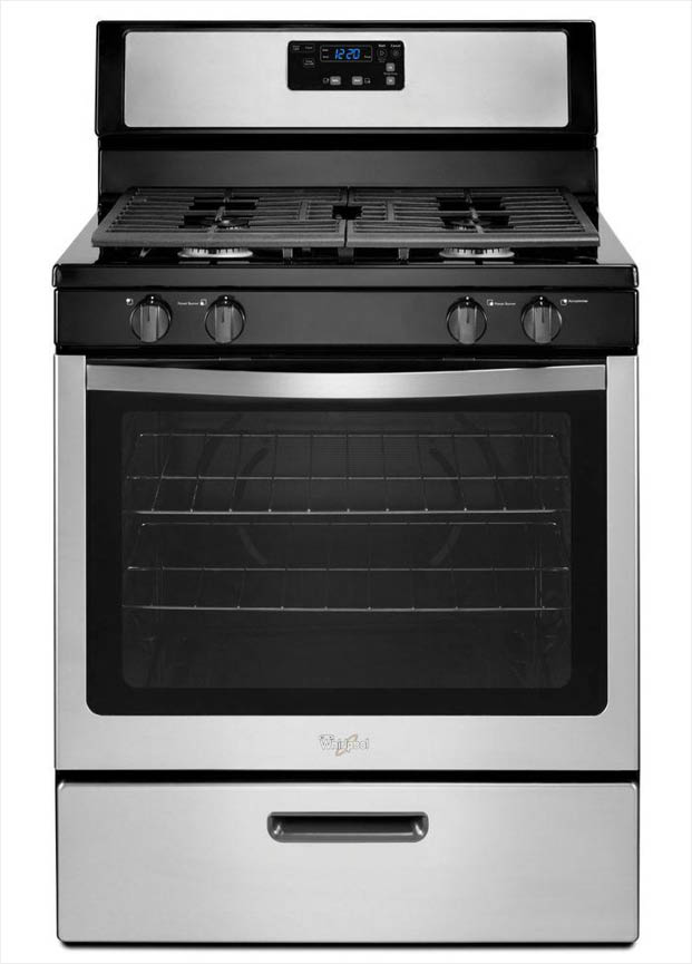Whirlpool 5 1 Cu  Ft  Gas Range With Under
