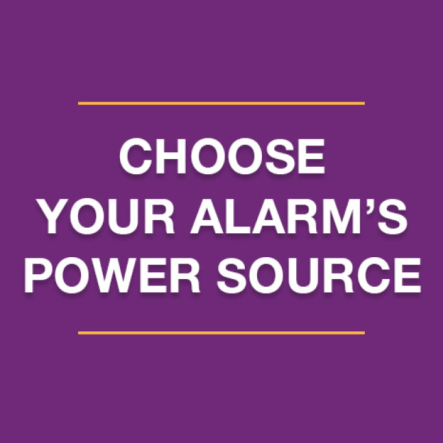 Identify current power situation, choose the right smoke and carbon monoxide alarm