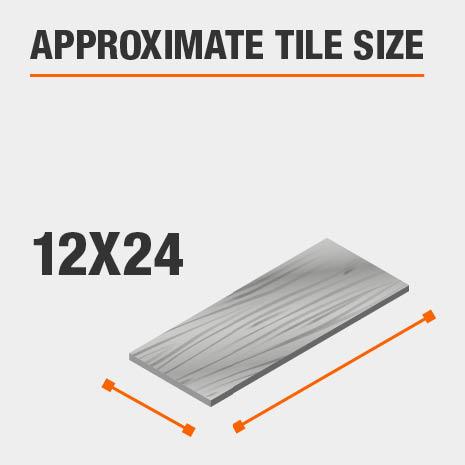 Tile Size 12x24
