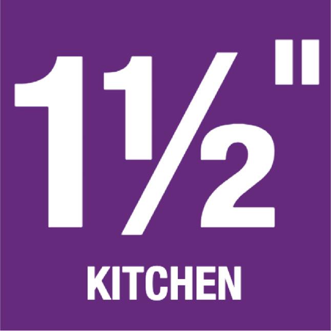 """1-1/2"""" Kitchen"""