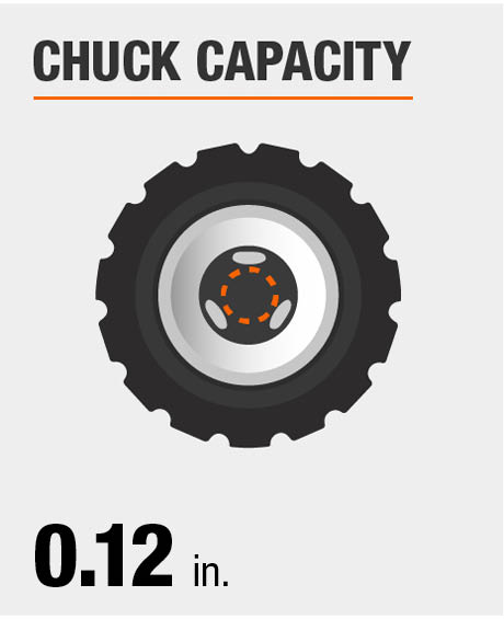 Chuck Capacity Dimension