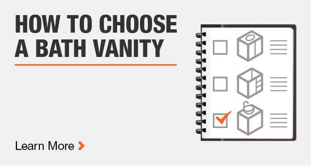How to Choose a Bath Vanity