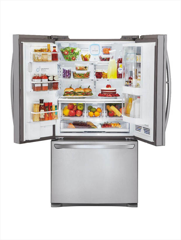 Lg Electronics 28 5 Cu Ft French Door Refrigerator With