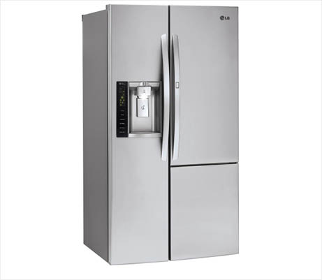 LG LSXS26366S sleek stainless steel design