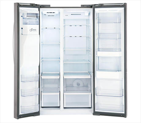 LG LSXS26366S large storage capacity refrigerator