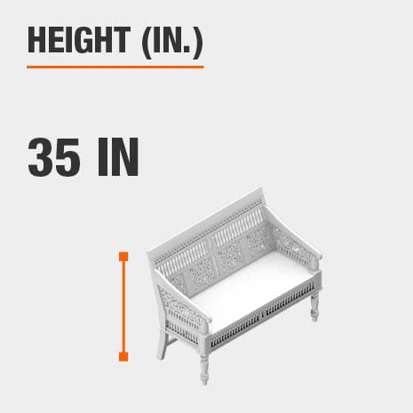 Height 35 inches