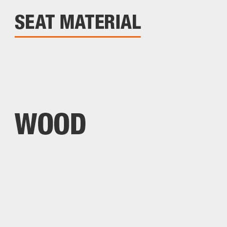 product seat material wood
